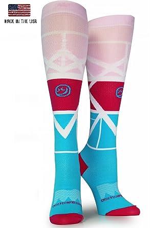 362c270c07 Amazon.com: Crazy Compression OTC Geo Compression Socks: Clothing
