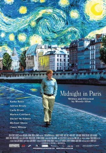 Amazon.com: Midnight In Paris Movie Poster: Prints: Posters & Prints