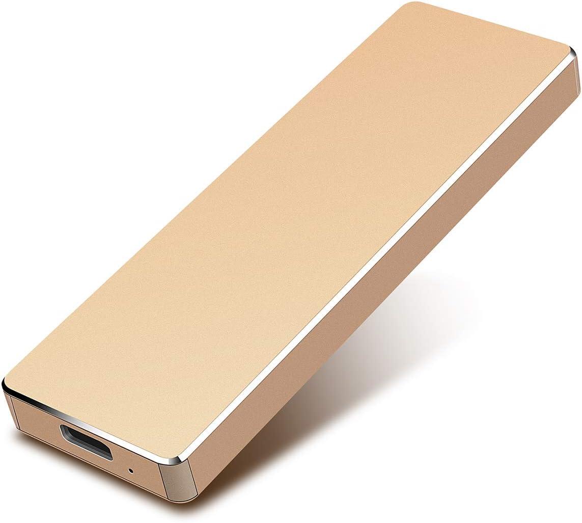 2 TB, Azul Apelom Disco Duro Externo Port/átil 2TB Mac Apple Type C USB3.1 SATA HDD Almacenamiento para PC Windows Xbox 360 X