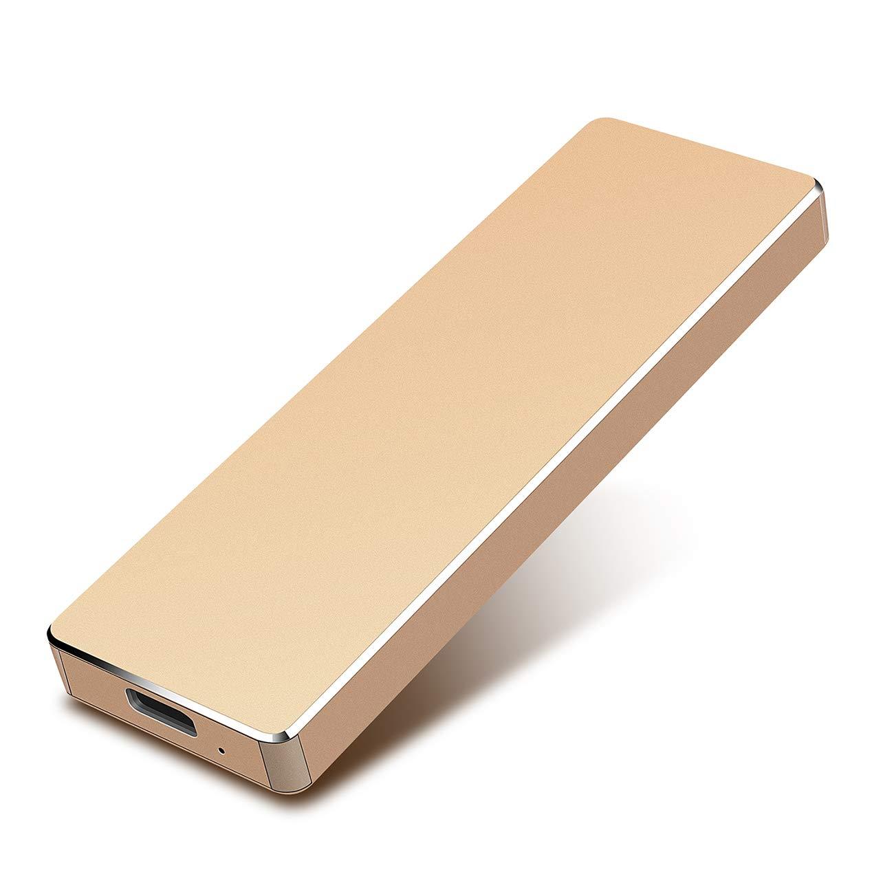 Windows Apple Apelom Disco Duro Externo Port/átil 1TB Mac Type C USB3.1 SATA HDD Almacenamiento para PC Xbox 360 X 1 TB, Rojo