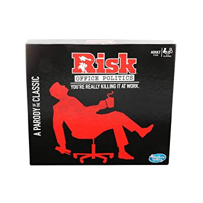 RISK Office Politics Board Game Parody Adult Party Game: Toys & Games