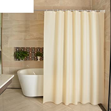 High Quality Plastic Curtain Peva Bathroom Partition Curtains Bathroom Thickening And  Hanging Curtains A 240cm200cm