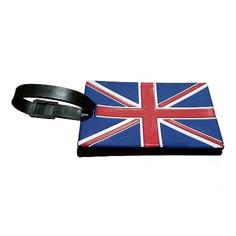 Portátil Union Jack Etiqueta para equipaje souvenir. GB Reino Unido ...