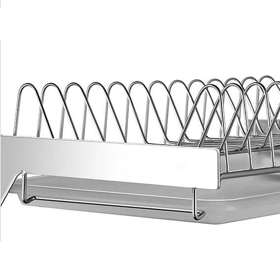 Amazon.com: GAOYANG Kitchen Dishwasher Drying Rack Wall-mounted Punch-free Dish Rack Stainless Steel Drain Rack Kitchen Hanging Rack Plate Rack Storage Rack ...