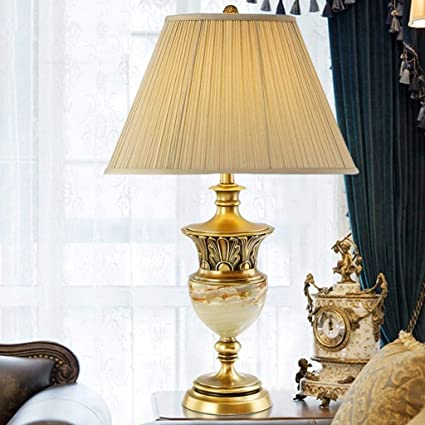 DWLXSH Traditional Table Lamp,Living Room Bedside Table Lamp,Decorative Nightstand Room Lamps: Amazon.co.uk: Kitchen & Home