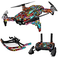 MightySkins Skin for DJI Mavic Air Drone - Acid Trippy | Max Combo Protective, Durable, and Unique Vinyl Decal wrap cover | Easy To Apply, Remove, and Change Styles | Made in the USA