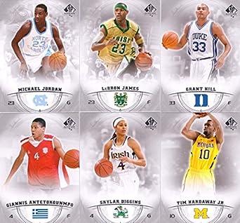 hot sale online 90243 97aca Amazon.com: 2013 SP Authentic Basketball Card Set Complete M ...