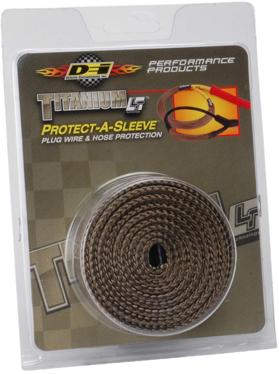 0.5 x 4 Design Engineering 010475 Titanium Protect-A-Sleeve with LR Technology