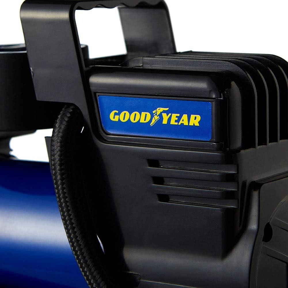 Van Motorrad aufblasbares Luftbett Goodyear GY900017 Tragbare Digitale Reifenkompressor-Pumpe f/ür Auto Fahrrad