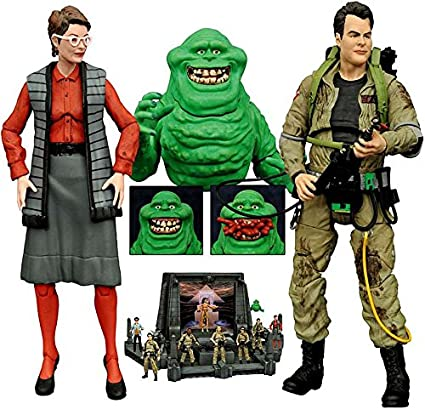Diamond Select Ghostbusters Slimer Janine and Ray Series 3 Action Figure Assortment  sc 1 st  Amazon.com & Amazon.com: Diamond Select Ghostbusters: Slimer Janine and Ray ...