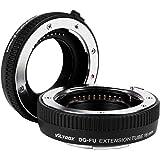 VILTROX 接写リング DG-FU AFエクステンションチューブリング 10mm 16mm延長チューブ オートフォーカス レンズ接写リング フジ Xマウントマクロレンズ用