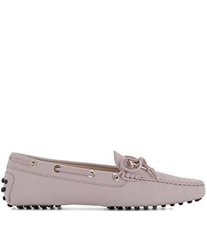 48884aa2ca9 Tod s Women s XXW0FW0X71006SL020 Pink Suede Loafers  Amazon.co.uk  Shoes    Bags