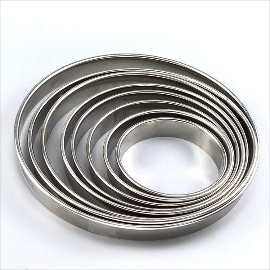 Prettyia Pizza Pan Rings Biscuit Cutter, Heavy Duty Stainless Steel Round Pastry Cutter Ring Mold for Pizza Pan, 8 Sizes to Choose - 12inch by Prettyia (Image #9)