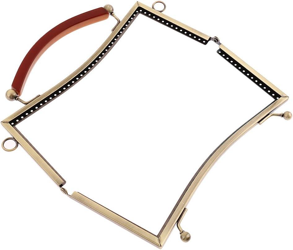 B Baosity Strass Bowknot Verschluss Rahmen DIY Schlie/ße Griffe Taschenrahmen zum einn/ähen Taschenverschluss f/ür Handtasche Abendtasche Clutch