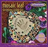 Midwest Products Mosaic Leaf Stepping Stone Kit For Sale