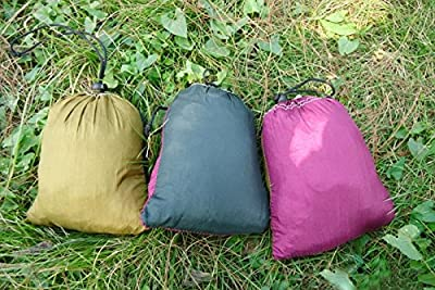 Enjoydeal Portable Outdoor Traveling Camping Parachute Nylon Fabric Hammock