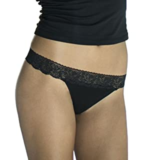 e4c9c0f903c6 Cariloha Women's Bamboo Underwear by Viscose from Bamboo Lace Thong Panties