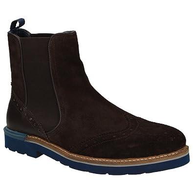 9531e849fc9a0 Arqueonautas Winchester Herren Schuhe Wildleder Chelsea-Boots Stiefelette  Budapester-Stil