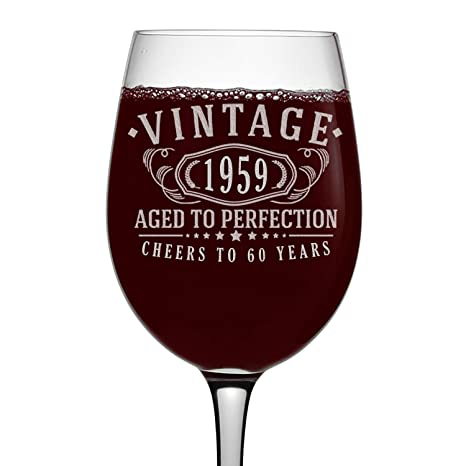 Amazon.com: Copa de vino con tallo de 16 onzas, diseño ...