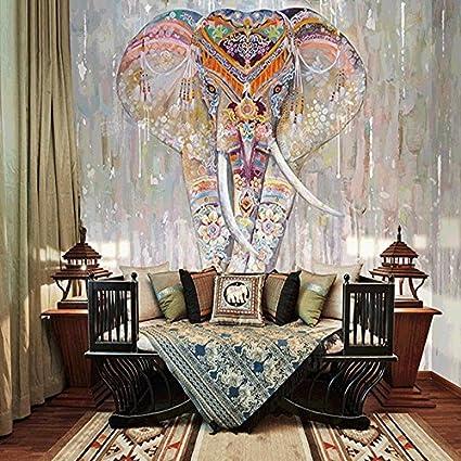 Wongxl El Sudeste De Asia Pintada A Mano De Elefante Indio Videos Wall Hotel Pared De Papel Tapiz De Pared De Yoga Tailand/és 3D Papel Pintado Wallpaper Mural Fresco 150cmX100cm