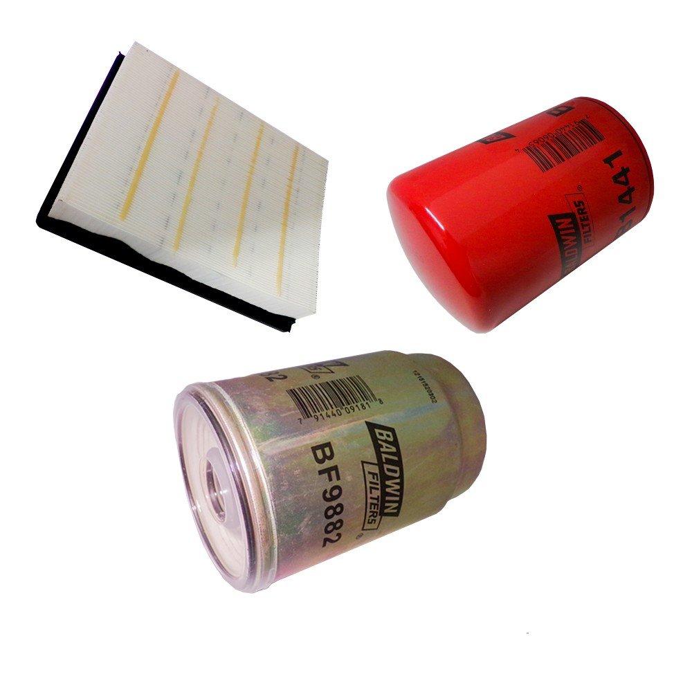 Amazon.com: Diesel Care Baldwin Duramax 2001-2005 LB7 LLY filter pack ,Oil  , Air, Fuel: Automotive