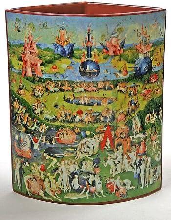 Jardín de delicias terrenales jarrón por hieronymos Bosch SDA10 silueta D ART: Amazon.es: Hogar