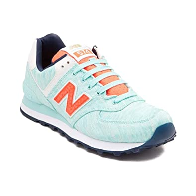 new products 950d9 4bf24 New Balance Women s 574 Fashion Sneaker (Womens 5, Turquoise 1473)