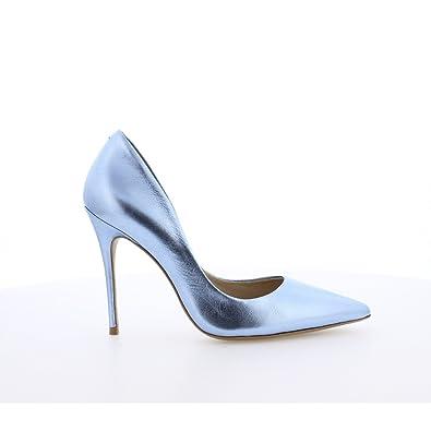 Bronx »Leder« High-Heel-Pumps, blau, blau