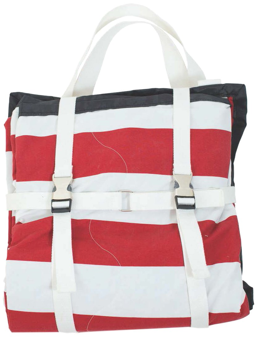 Palm Beach Crew Brilliant Blanket and Wet Bag Game Day Collection, Red/Black