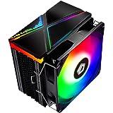 ID-COOLING SE-234-ARGB CPU Cooler AM4 CPU Cooler 5V Addressable RGB Cooler 4 Heatpipes CPU Air Cooler 120mm PWM Fan, Intel/AM