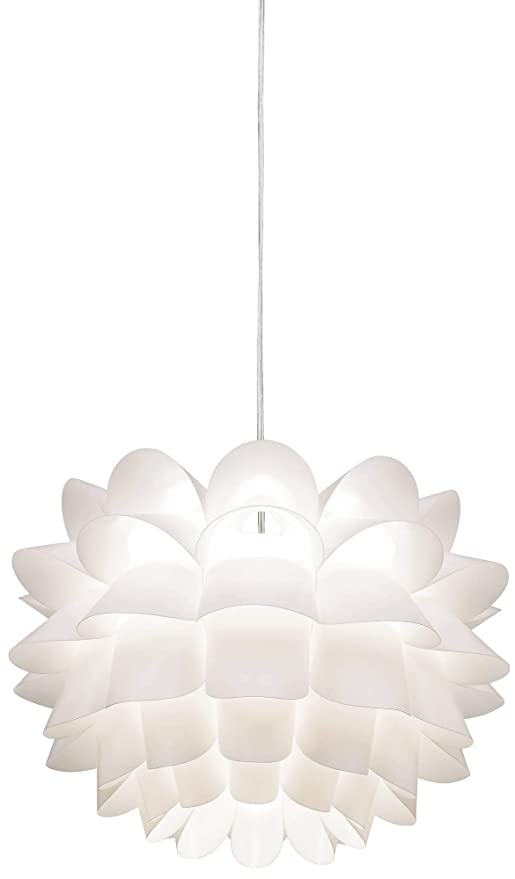Amazon.com: Flor blanca de possini Euro 19 1/2