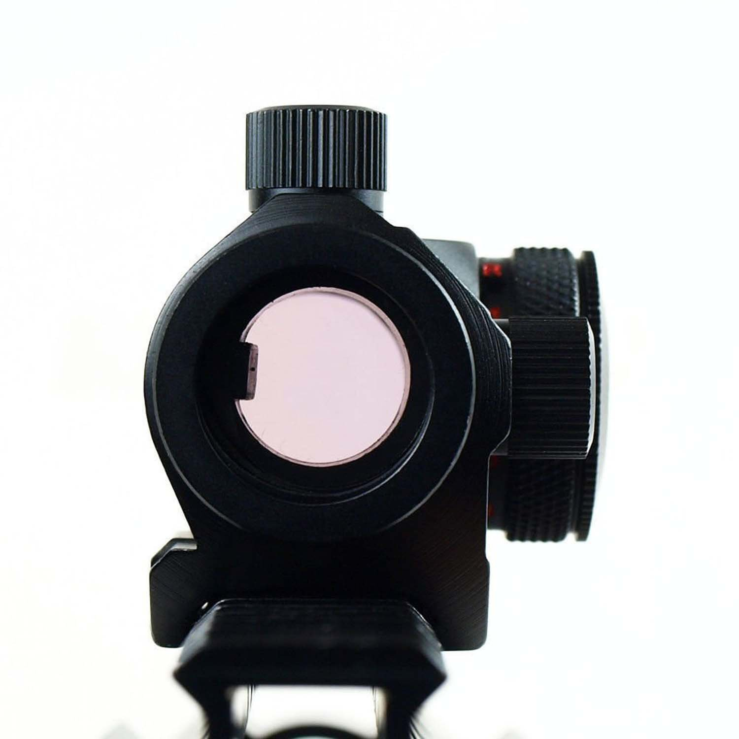 MAYMOC Airsoft 1x24 Micro T-1 Red//Green Dot Sight Scope 20MM