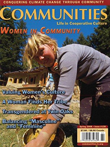 Communities Magazine #138 (Spring 2008) – Women in Community