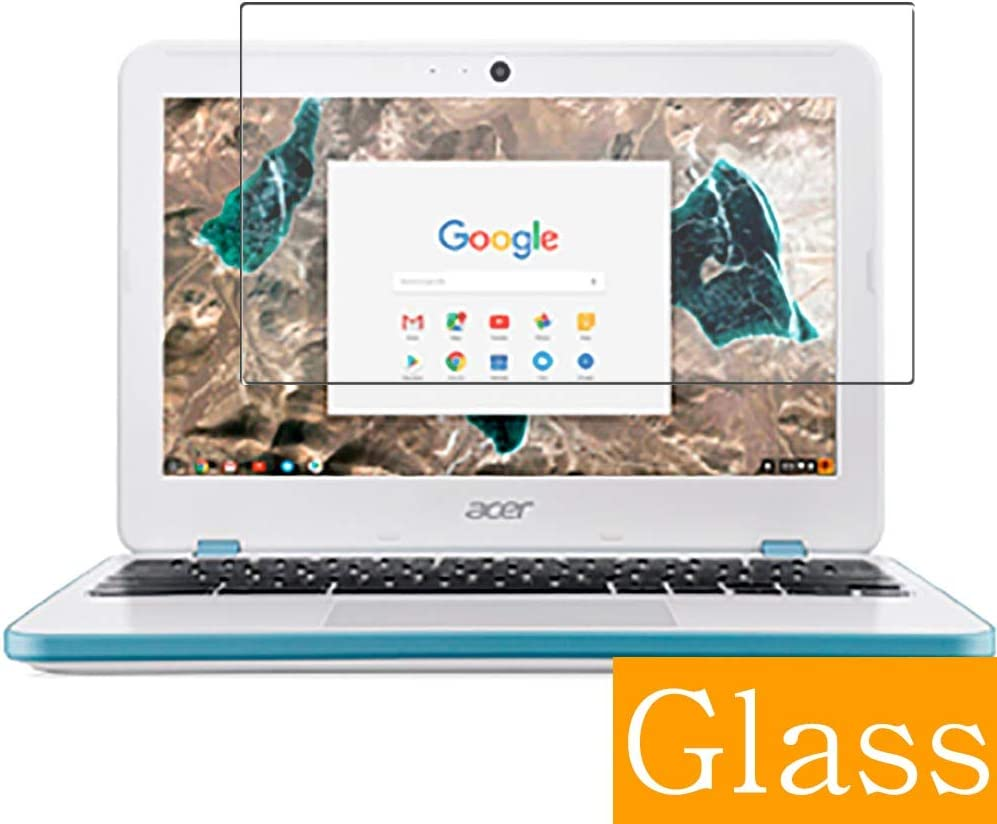 "Synvy Tempered Glass Screen Protector for Acer chromebook 11 CB311-7H-N14N 11.6"" Visible Area 9H Protective Screen Film Protectors (Not Full Coverage)"