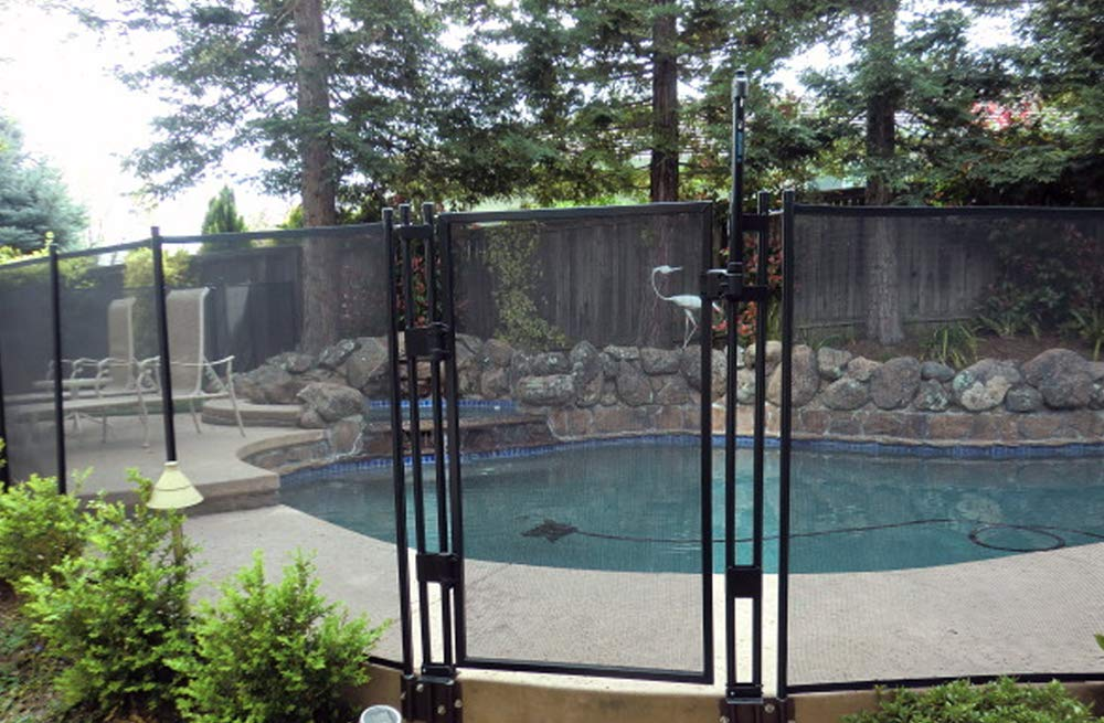 Amazoncom Sentry Safety Diy Pool Fence By Ez Guard 4 12 Long