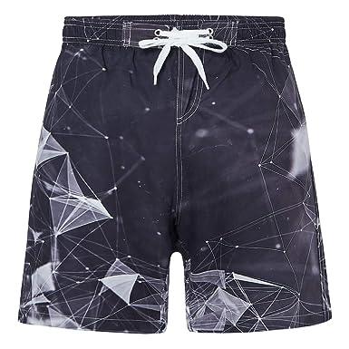 6f0e1d5cb31fd RAISEVERN Pantalon de Plage d'été pour garçons, séchage Rapide, sous-Marin