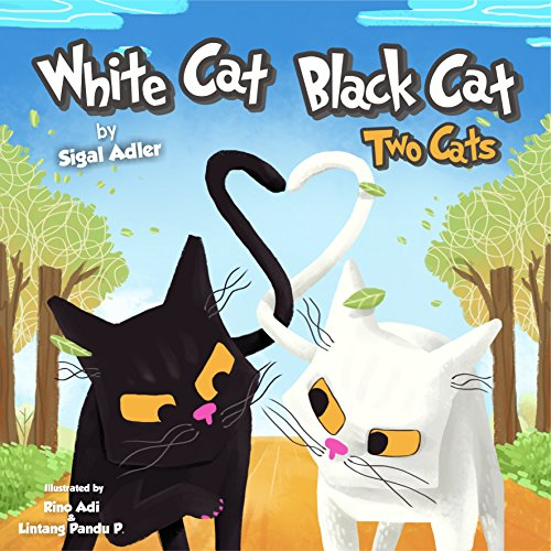 """WHITE CAT BLACK CAT "" (Bedtimes Story: Children"