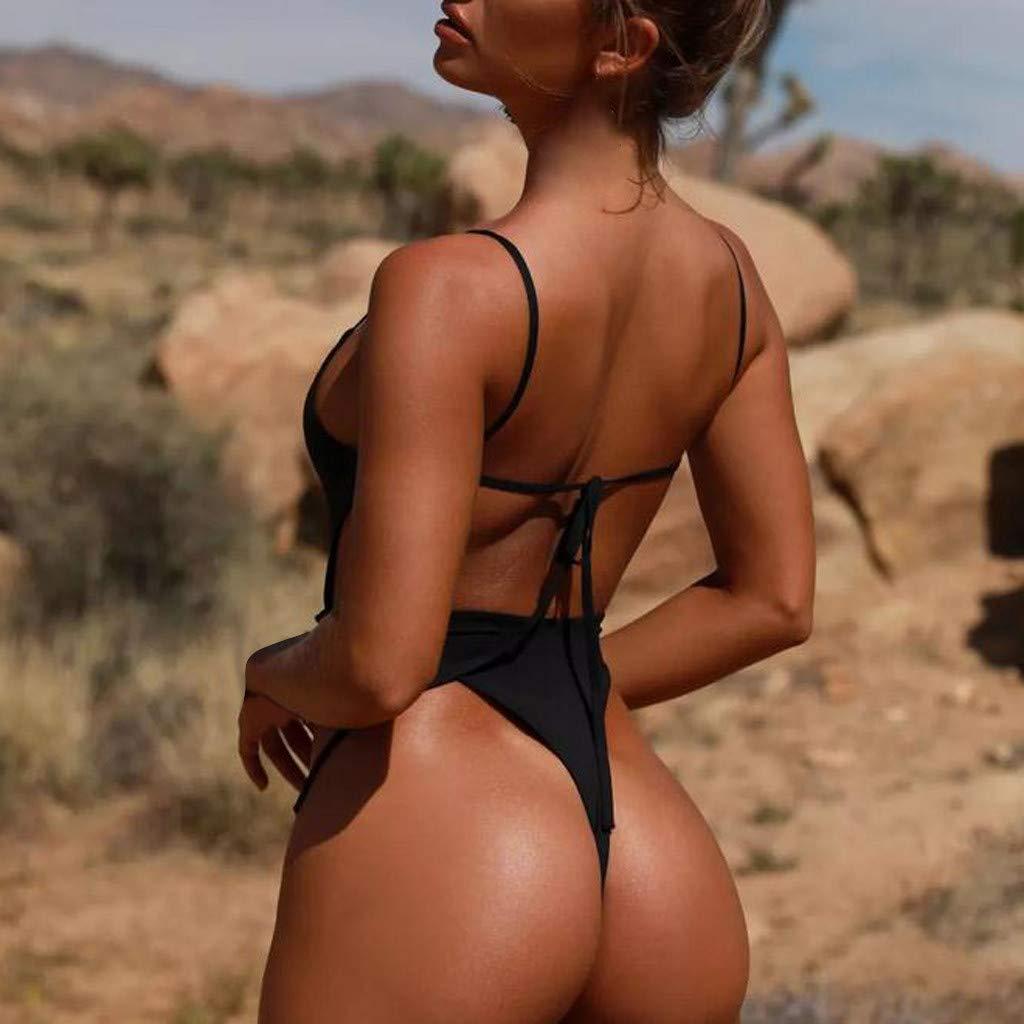 Traje De Ba/ñO para Mujeres Traje De Ba/ñO De Bikini con Estampado De Mujer Sujetador Acolchado para Mujer Bikini Set Traje De Ba/ñO Moda De Verano