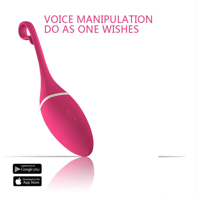 FUYKIN Tshirt New Vibrator Massager Vibrating Egg Magic Vibrator Stimulation Wireless App Control Smart Phone Egg for Women Gifts