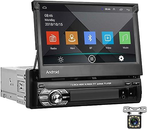 Android 1 Din Autoradio 7 Zoll Flip Out Touchscreen Elektronik