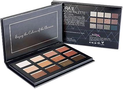 Jessup Aurorai Make up Paleta de sombras de ojos Desnudos Arena Polvo natural de larga duración Paleta de cosméticos para ojos E705: Amazon.es: Belleza