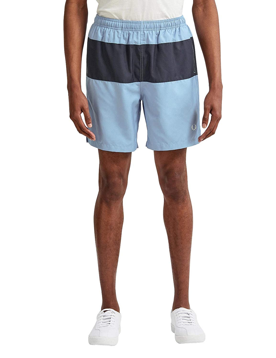 Sky S Frouge Perry Hommes's Panelled Swimcourte