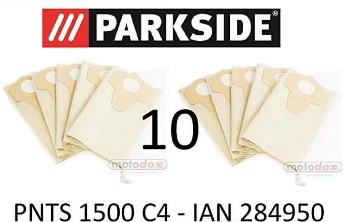 Parkside Vacuum Dust Bags 30 L Ian 284950 Brown 906 – Lidl Parkside PNTS 1500 °C4 Wet Dry Vacuum Cleaner