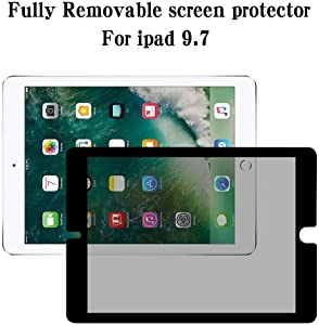 (Fully Removable) iPad Air 3 Privacy Screen Protector for Apple iPad Air 2019/iPad Pro 10.5 inch Removable Privacy Screen Protector/Anti-Glare&Scratch-Resistant Compatible with Apple Pencil