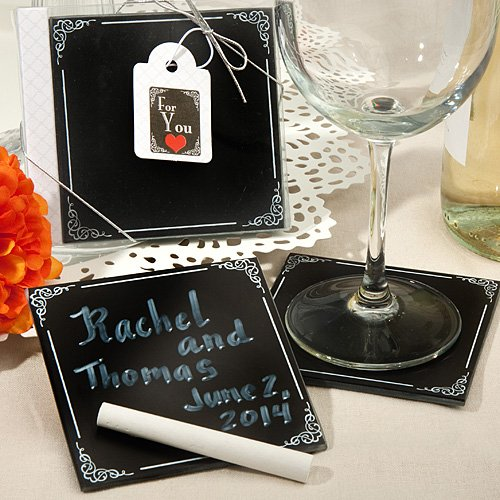 Blackboard Design Coaster Sets Fashioncraft