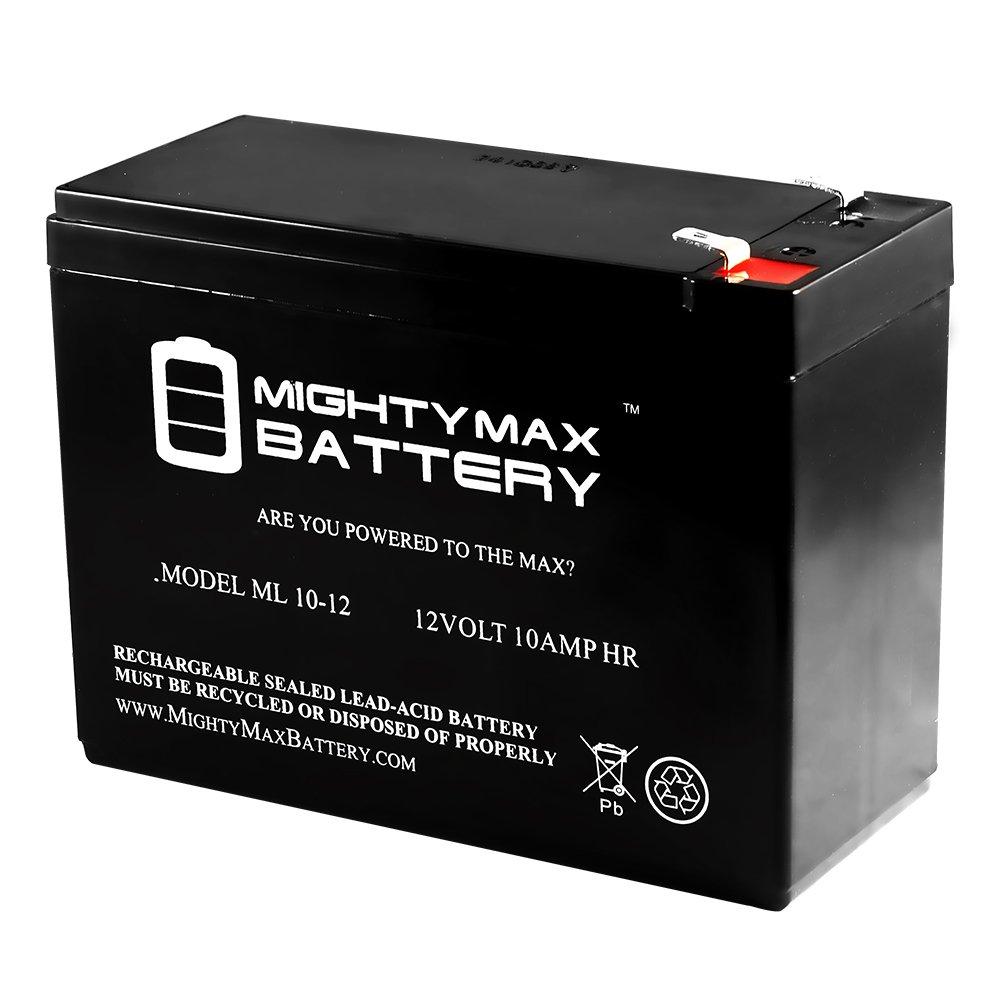ml10 – 12 – 12 V 10 Ah Bladez Ion 350スクーターBattery – Mighty Maxバッテリーブランド製品 B00K8ED172