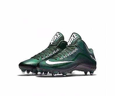 Amazon.com | Nike Alpha Pro 2 TD Football Cleats (10 D(M) US, Forrest  Green/White/Black) | Football