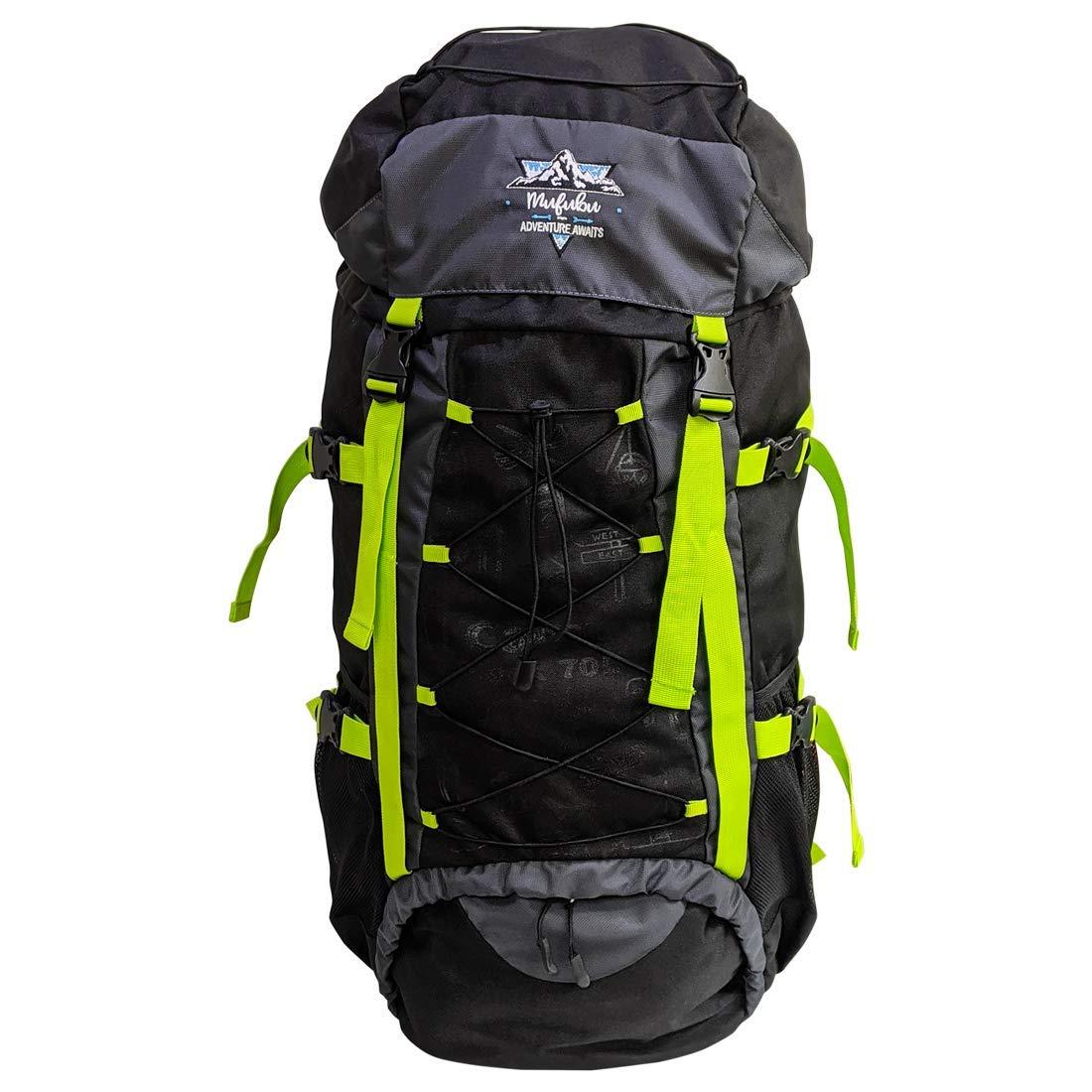 Mufubu, 75ltrs Campsack Rucksack / Camping / Trekking / Hiking Bag for Outdoor Sports,Travelling Backpack. Best Of Rucksacks & Hiking Trekking Bags in India
