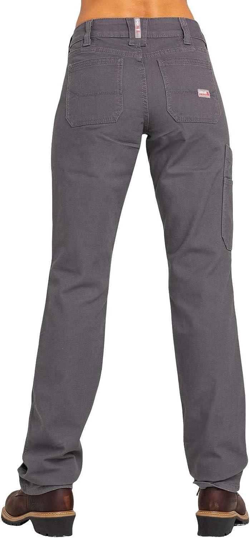 ARIAT Women's Fr Duralight Stretch Canvas Straight Leg Pants - 10030254