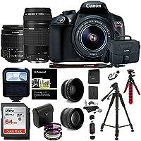 Canon EOS Rebel T6 DSLR Camera Kit, EFS 18-55mm, EF...